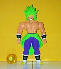 """mexican DBZ DBS DRAGON BALL ULTIMATE SUPER SAIYAN BROLY size 7"""" action figure !!"""
