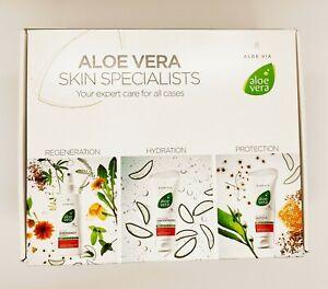 ALOE VERA ALOE VIA - SPECIAL CARE BOX - LR Health and Beauty - gel spray cream