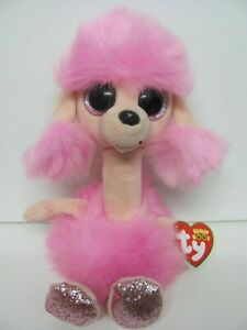 """Ty Beanie Boos Camilla Pink Poodle 9.5"""" Soft Plush Toy 2020"""