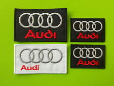 AUDI KIT 4 PATCH TOPPE RICAMATE TERMOADESIVE