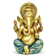 Ganesha Statue Elephant Hindu God of Success Large 9.5-inch-tall Resin Ganesh