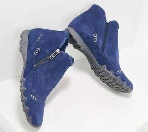 Women Snow Boots Warm Winter Non Slip Plus Velvet Cotton Casual Flats Zip Shoes