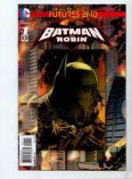 THE NEW 52 FUTURES END BATMAN & ROBIN #1 LENTICULAR  2013  DC COMIC