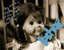 "Autograph JUNE FORAY signed photo TWILIGHT ZONE TALKY TINA doll ""Going to Kill.."