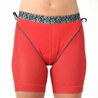Club Ride MontCham Womens X-Small Red Padded Chamois Cycling Liner Shorts Bike