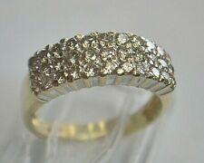 14K YELLOW GOLD 1ct DIAMOND WEDDING/ ENGAGEMENT RING