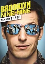 Brooklyn Nine-Nine: Third Season 3 (DVD, 2016, 3-Disc Set)