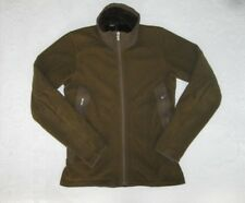 $330 NAU The Shroud of Purrin Faux Fur Lined Zippered Top Brown Jacket Size S