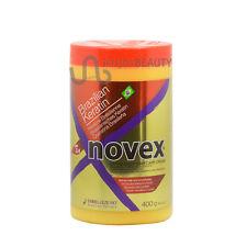 Novex Brazilian Keratin Extra Deep Hair Care Cream 14.1oz w/FREE Nail File