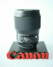 Sigma 135mm F1.8 A Art Series DG HSM Lens Canon mount EOS EF Best Sharpest lens