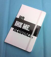 Banana Republic Moleskine Lined Notebook  Legendary Custom Edition White New