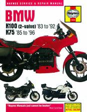 HAYNES Repair Manual - BMW K100 2-valve (83-92) & K75 (85-96)