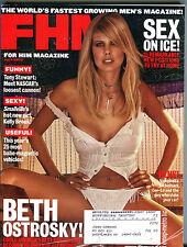FHM For Him Magazine April 2002 Beth Ostrosky VG 080116jhe
