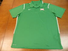 Green Big XII Conference Nike Golf Dri-Fit Polo Shirt XXL 12