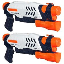 Brand New NERF Super Soaker SCATTER BLAST Blaster ~ Water Pistol 2 PACK