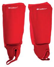 CranBarry Deluxe Field Hockey Shin Guards - Red