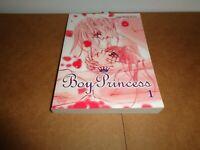 Boy Princess Vol. 1 Manhwa Manga Graphic Novel Comic Book in English Yaoi BL