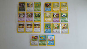 (Lot 646) Pokemon cards 75 series - a selection of 21 cards , bulk,  joblot