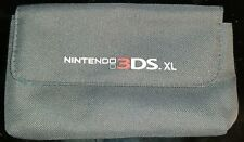 Licensed Nintendo Carrying Case Bag Game Pouch Gray + Blue for 3DS XL 2DS XL DSi