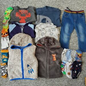 Baby boy clothes bundle - 9-12 months Jeans Hoodies Jumper Socks