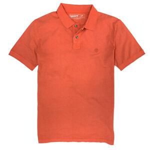 Timberland Men's Short Sleeve Solid Basic Polo Shirt A1KWJ