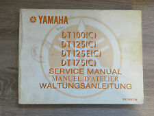 Yamaha Maintenance Manual DT100 DT125 DT125E(C) DT175(C) Service Manual