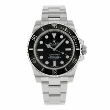 Rolex Submariner No Date Steel Black Dial Automatic Mens Watch 114060