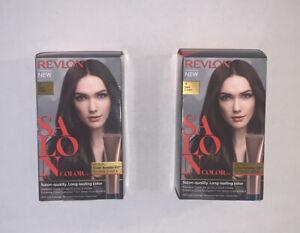 Revlon Salon Color #4 Dark Brown Color Booster Kit Lot Of 2 Boxes