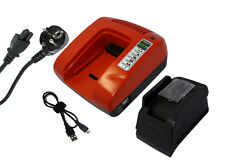 PowerSmart 18V Chargeur rapide pour Makita BHP451 BHP453Z BHP456RFE BHP458