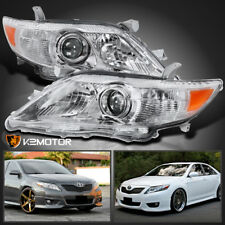 For 2010-2011 Toyota Camry Crystal Projector Headlights Left+Right Replacement (Fits: Toyota Camry)