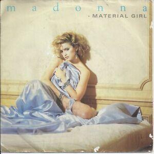 "Madonna - Material Girl 7"" Vinyl Single 1985"
