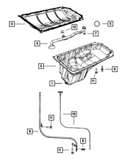 Genuine Mopar Oil Pan Gasket 53021568AE