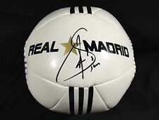 Raul Gonzalez Blanco Signed Autographed Soccer Ball Real Madrid Adidas Coa !