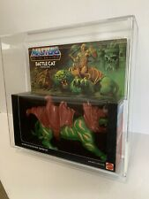 BATTLE CAT - MASTERS OF THE UNIVERSE MOTU MIB AFA UNCIRCULATED U75 -B85 W75 F85