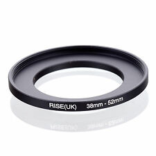 Aumento de Reino Unido 52-55mm Step-Up Lente Filtro Anillo Adaptador 52mm a 55mm