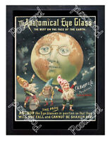 Historic Anatomical Eye Glass 1890s Advertising Postcard