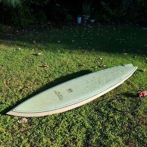 """6'4"""" Single Fin Surfboard Summer Breeze"""