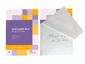 5 x Plain Paper Flipchart Easel Refill Pad A1 (40 Sheets per pad) £4.39 each