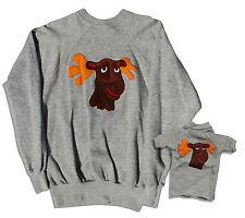 Captain Kangaroo Moose Sweater Lot From Estate