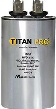 Titan TOCF7.5 7.5 MFD 370/440V Dual Rated Oval Run Capacitor - New