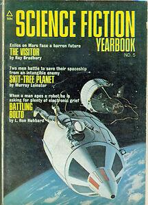 Science Fiction Yearbook-1971 # 5-----1192-Ron Hubbard--Ray Bradbury