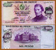 Uruguay, 1000 Pesos, ND (1974), P-52, UNC