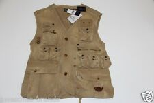 New Polo Ralph Lauren Down Hunting Safari Vest men Small S