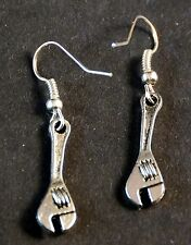 Hand Made Adjustable Wrench Earrings HCE075