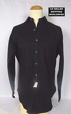$225.00 Polo by RALPH LAUREN Large Black Cashmere Blend Dress Shirt MakeAnOffer!
