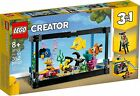 NEW | LEGO CREATOR KIT 3 IN 1 FISH TANK (31122) 352 PIECE BUILDING TOY SET