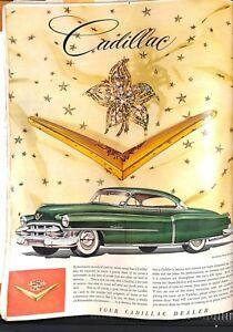 "Original Vintage 1950s - ""Cadillac"" Advert Life Magazine June 1953"