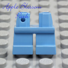 NEW Lego Minifig Medium BLUE SHORT LEGS  - Boy Girl Child Med Light Jeans Pants