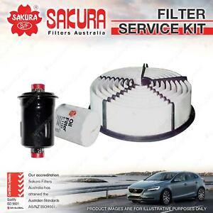 Sakura Oil Air Fuel Filter Service Kit for Toyota 4 Runner Hilux VZN130 3.0L V6