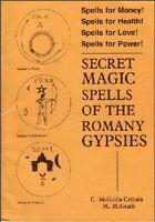 RARE- SECRET MAGIC SPELLS OF THE ROMANY GYPSIES -WITCHCRAFT RITUALS COVEN MAGICK